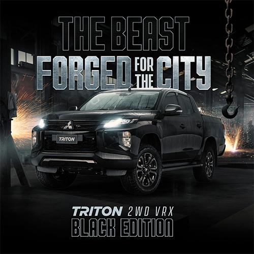 Hp Triton Black Edition 2wd 2000x750