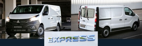 Mitsubishi Express - Built to Deliver